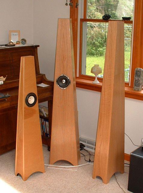 Quarter Wavelength Loudspeaker Design Gallery